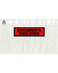 Dokumentkuvert DL 220x110mm tryck 250/FP