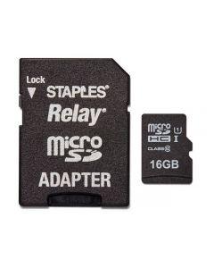 Minneskort STAPLES MicroSDHC/XC 16GB