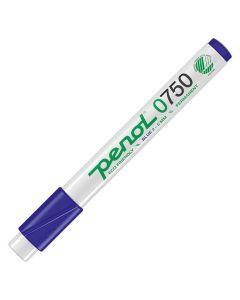 Märkpenna PENOL 0-750 perm 2-5mm blå