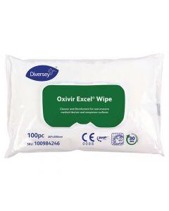 Ytdesinfektion Oxivir Excel Wipes 100/FP
