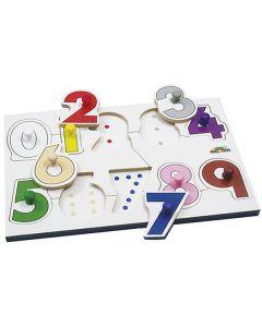 Knoppussel siffror 41x30cm