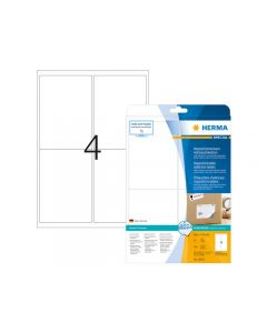 Etikett HERMA Movable 99,1x139mm 100/FP