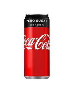 Coca-Cola Zero 33cl burk