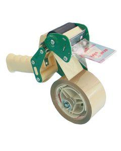 Tejphållare packtejp 50mm vit/grön