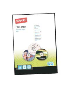Etikett STAPLES CD ø117mm 200/FP