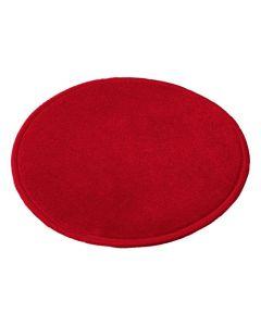 Matta rund 300 cm röd