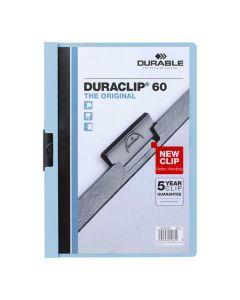 Klämmapp Duraclip 2209 A4 6mm blå
