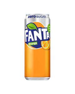 Fanta Zero Orange 33cl burk