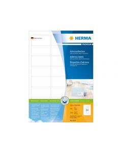Etikett HERMA Adress 63,5x33,9mm 2400/FP