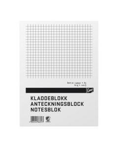 Anteckningsblock A5 100 blad linj TF