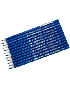 Färgpenna FABER-CASTELL mörkblå 12/FP
