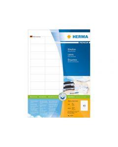 Etikett HERMA Premium 48,5x25,4mm 4000/FP
