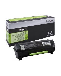 Toner LEXMARK 50F2000 502 svart