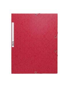 Gummibandsmapp EXACOMPTA A4 röd