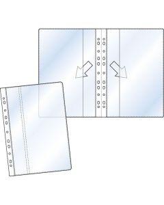 Plastficka dubbel A4 0,17 PP