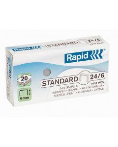 Häftklammer RAPID 24/6 galv 1000/FP