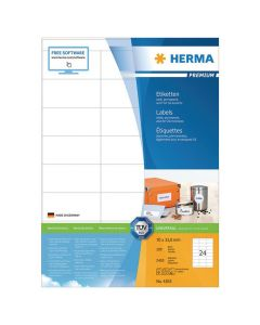 Etikett HERMA Premium 70x33,8mm 2400/FP