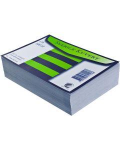 Kuvert konsument fp Sv C6 linj vit 100/FP
