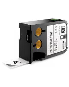 Tape DYMO XTL 24mm Sva på Vit 7m 1868753