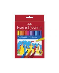 Fiberpenna Barn sorterade färger 24/FP