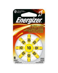 Batteri ENERGIZER hörsel 10 gul 8/FP