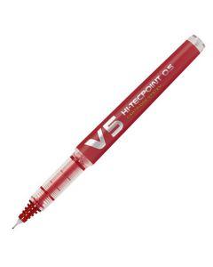 Bläckkulpenna PILOT Hi-Tec V5 röd