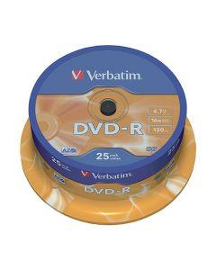 DVD-R VERBATIM 4,7GB 25/FP