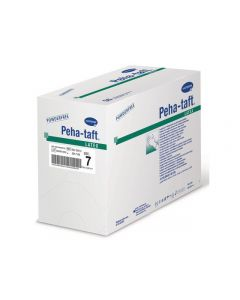 Op-handske Peha-taft latex S6,0 50PAR/FP