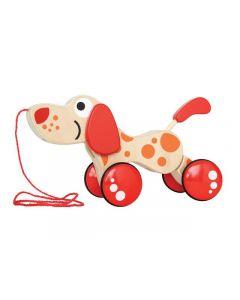 Dragleksak hund