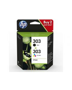 Bläckpatron HP 3YM92AE Svart+Färg 2/FP