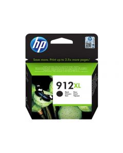 Bläckpatron HP 3YL84AE 912XL Svart