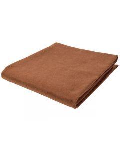 Dekorationsfilt 90x100cm brun