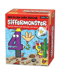 Spel Små kloka barn Siffermonster