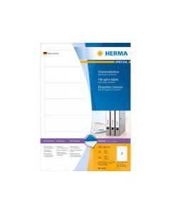 Etikett HERMA mapp/pärm vit 192x38mm 700/FP