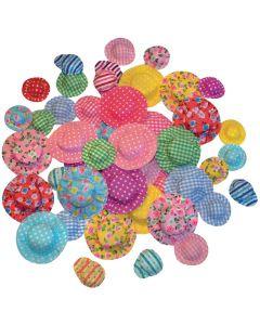 Hattar mini sorterade mönster 50/fp
