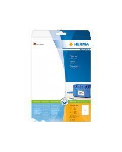 Etikett HERMA Premium 210x297mm 25/FP