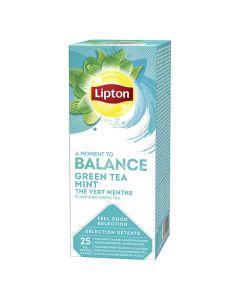 Te LIPTON påse Green Tea Mint 25/FP