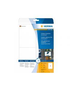 Etikett HERMA Outdoor 99,1x139mm 40/FP