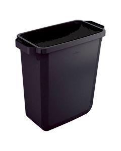Papperstunna 60 liter DURABIN rektang. svart