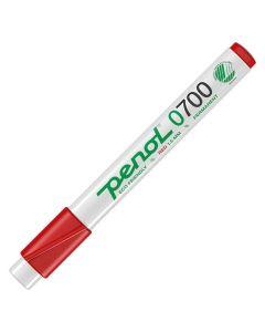 Märkpenna PENOL 0-700 perm 1,5mm röd