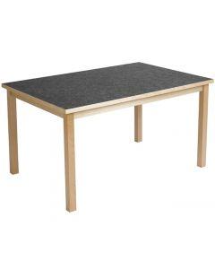 Akustikbord  80x120cm Antracit höjd 72c