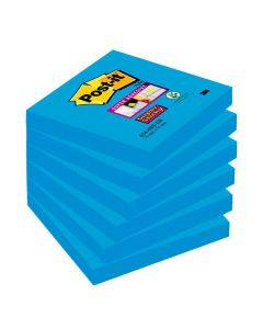 Notes POST-IT SuperSticky 76x76mm blå