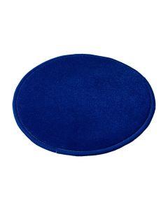 Matta rund 250 cm blå