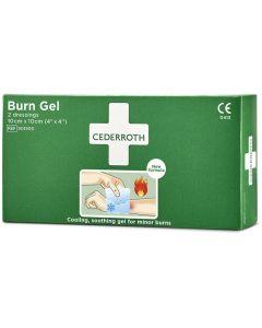 Kompress Burn Gel CEDERROTH 10x10 cm 2/FP