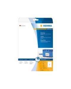 Etikett HERMA Inkjet 210x297mm 25/FP