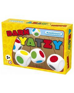 Spel Barnyatzy KÄRNAN färgtärningar trä