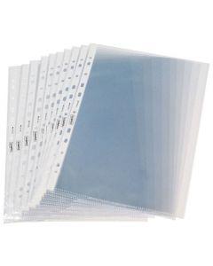 Plastficka STAPLES A4 prägl. 0,12mm 100/FP