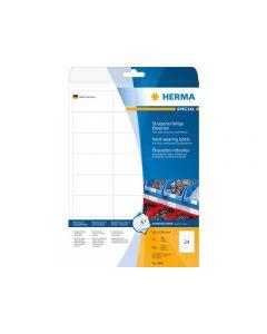 Etikett HERMA Slitstark 66x33,8mm 600/FP