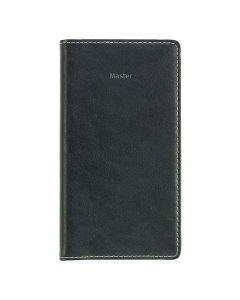 Master 7-språkig, svart k.läder - 3656