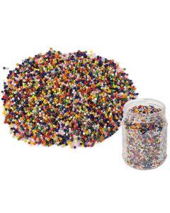 Glaspärlor 500g